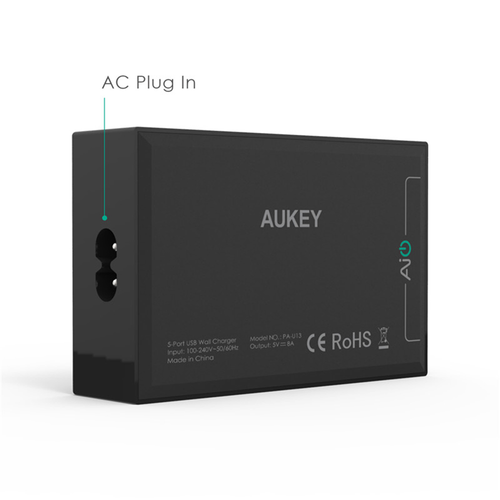 aukey 50w  10a 5 ports usb wall charger adapter with aipower tech worldwide fast free shipping Moto Z3 motorola v3 user manual